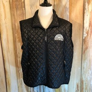 Southpole Black Quilted Puffer Vest sz XXL